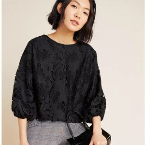Retail $128! Lace Blouse from ANTHROPOLOGIE NWT!